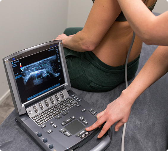 Echografie voor nekpijn, schouderpijn en rugpijn